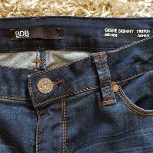 BDB Jeans - BDB -DAVID BITTON- Gisele Skinny Stretch Jeans
